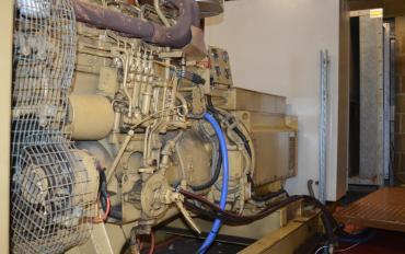 generator set st charles hospital bells power